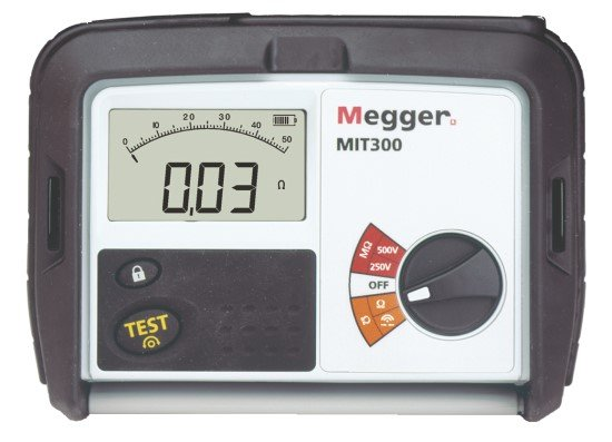 Megger MIT300 250 V and 500 V Insulation and Continuity